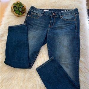 GAP 1969 Always Skinny Jeans 30 Short EUC